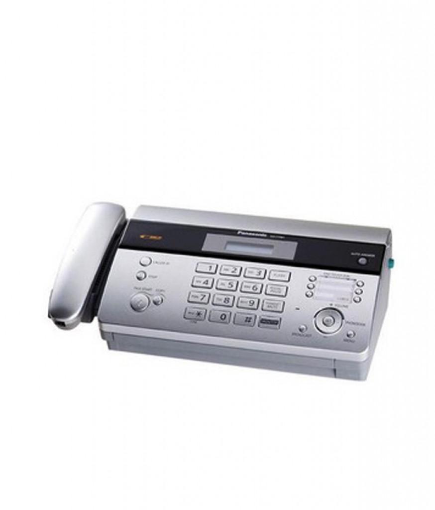 Panasonic Thermal Fax Kx Ft983cx Copy Telephone Putih8 Machine Ft987cx Facsimile Answering System Paper